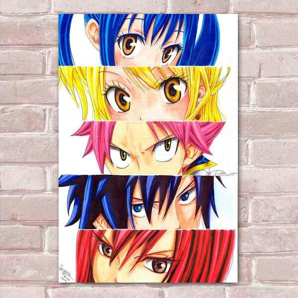 Placa Decorativa Fairy Tail 03