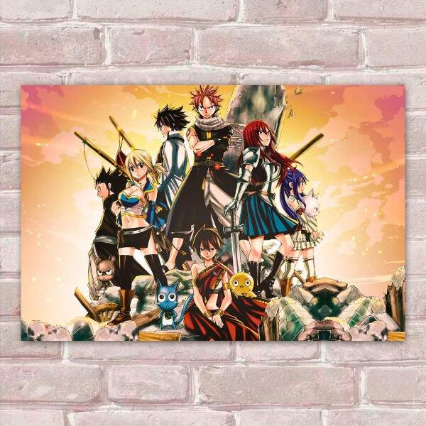 Placa Decorativa Fairy Tail 17