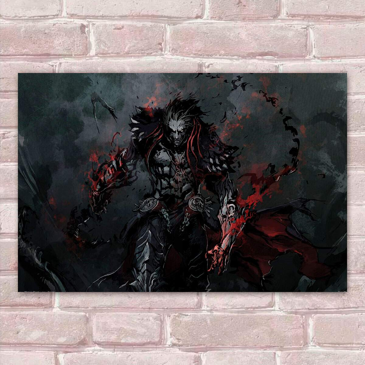 Placa Decorativa Castlevania 6