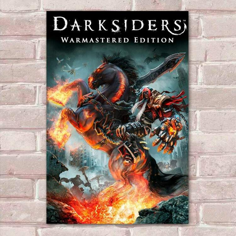 Placa Decorativa Games Darksiders 01