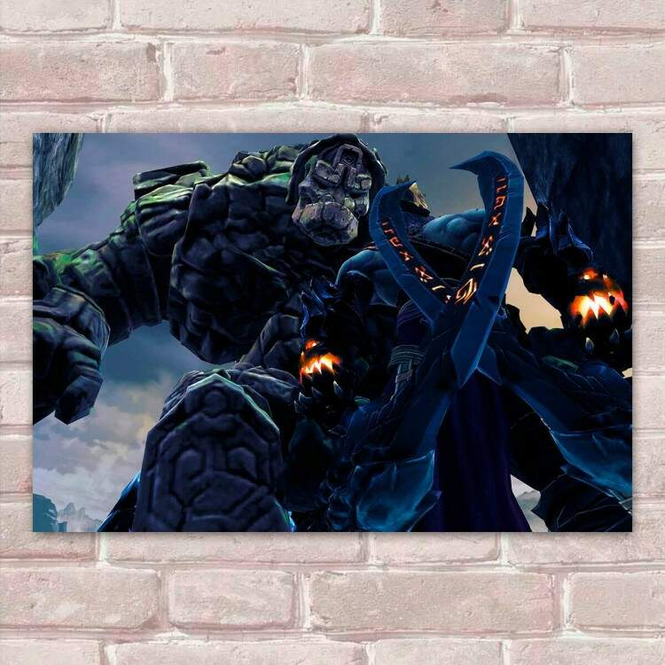 Placa Decorativa Games Darksiders 11