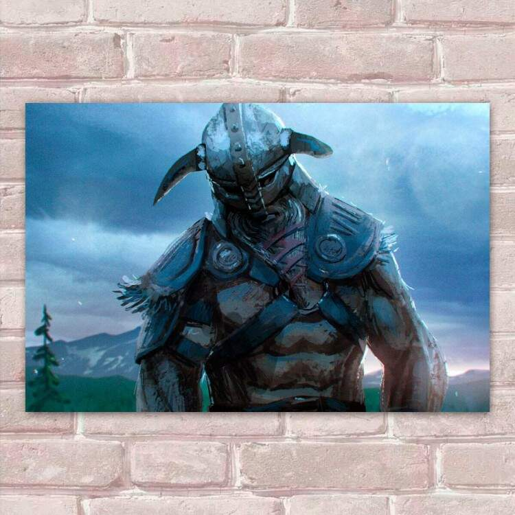Placa Decorativa Games For Honor 2