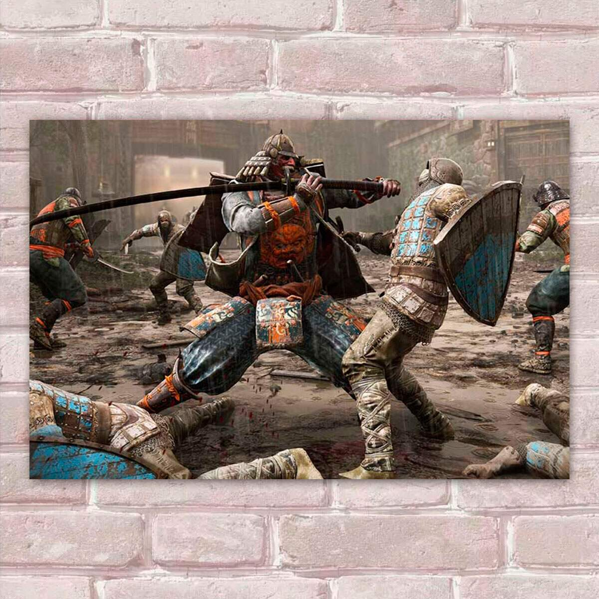 Placa Decorativa Games For Honor 22