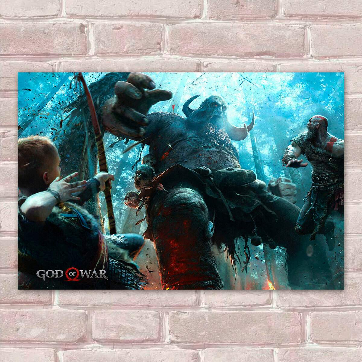 Placa Decorativa God of War 15