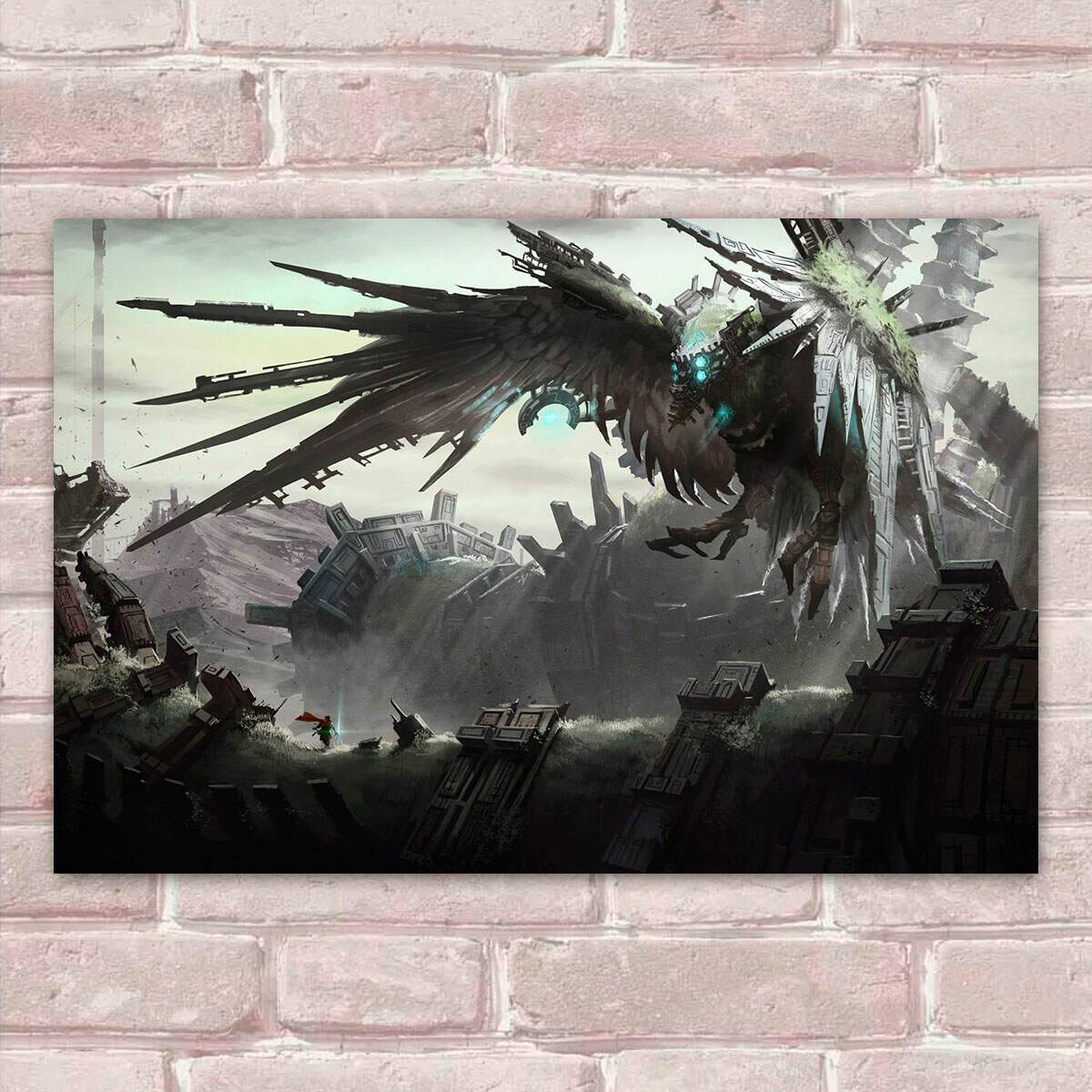 Placa Decorativa Shadow Of The Colossus 01