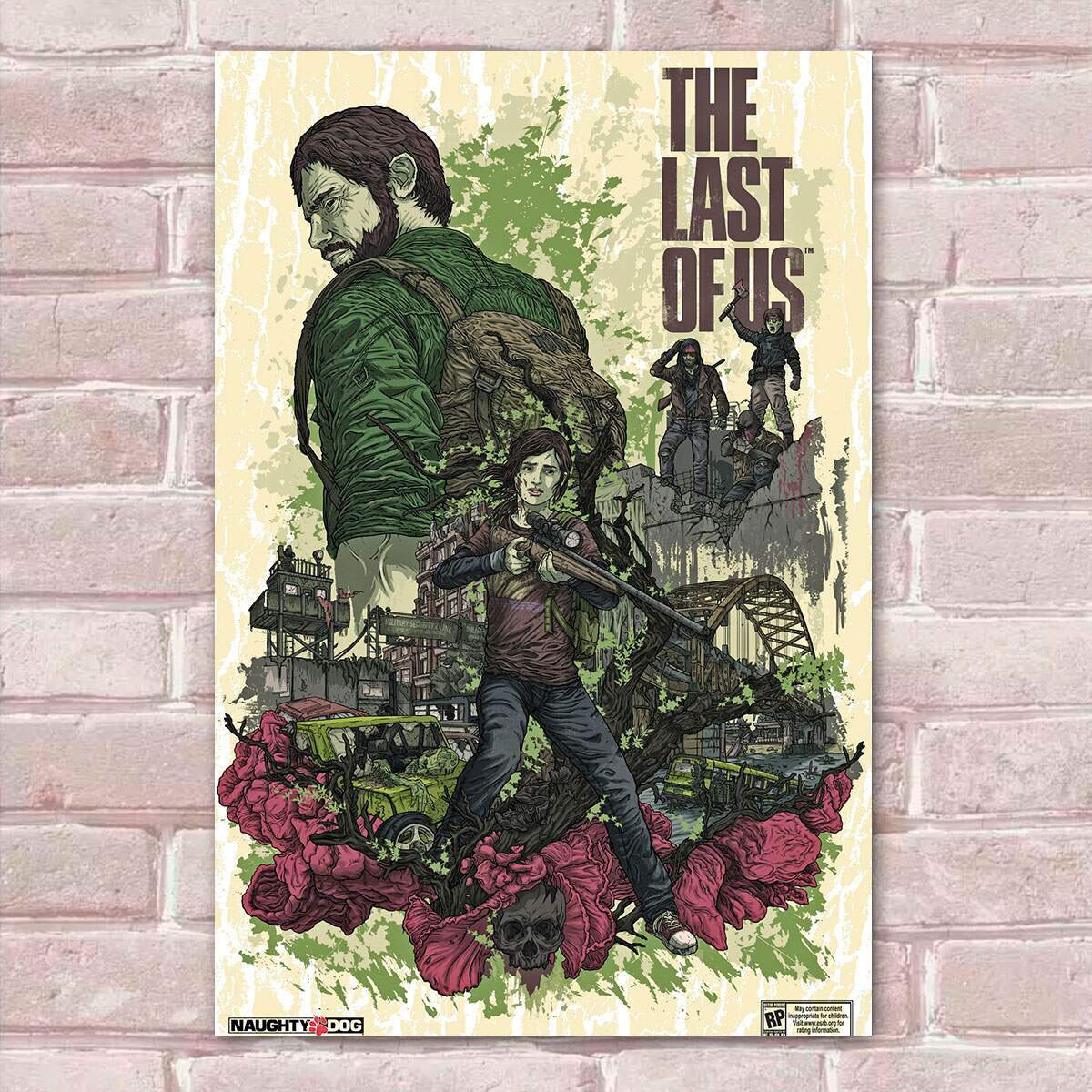 Placa Decorativa The Last of Us 16