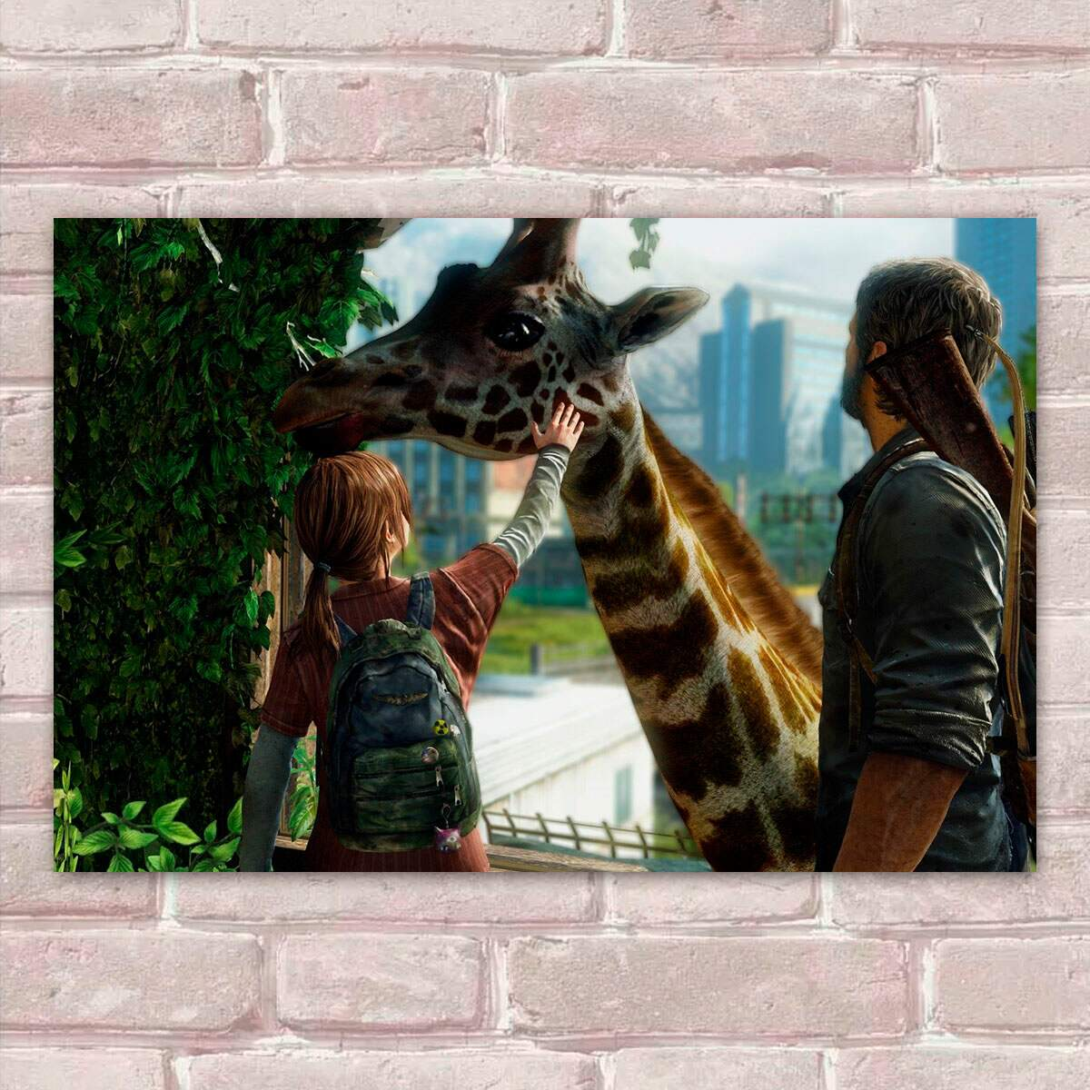 Placa Decorativa The Last of Us 19