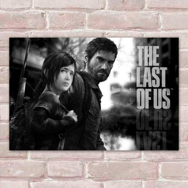 Placa Decorativa The Last of Us 22