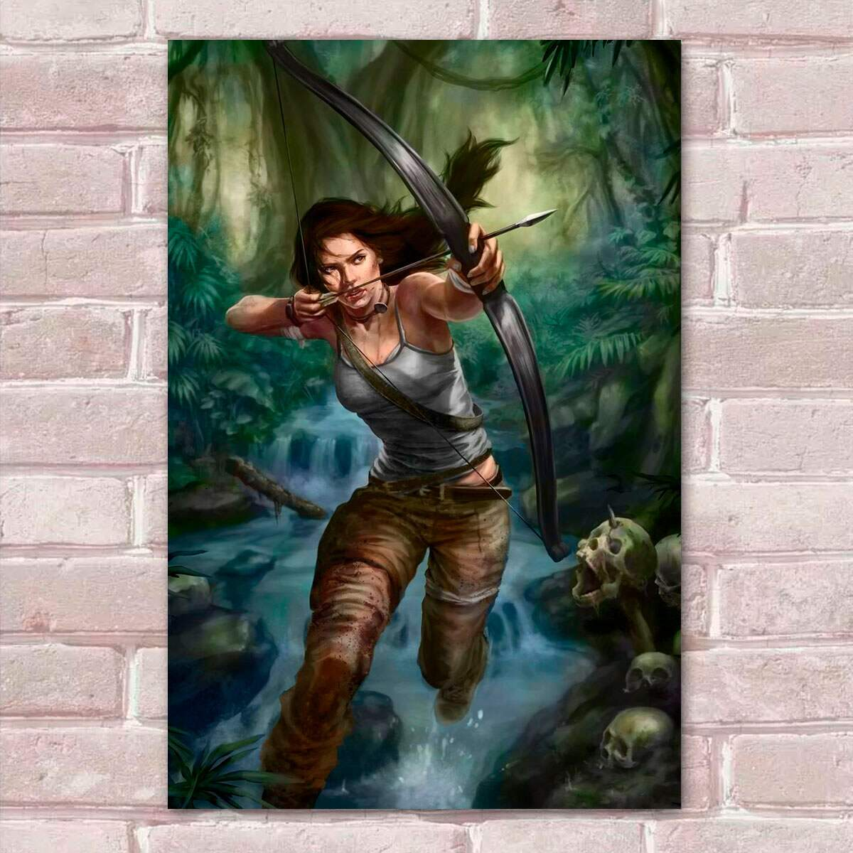 Placa Decorativa Tomb Raider 18