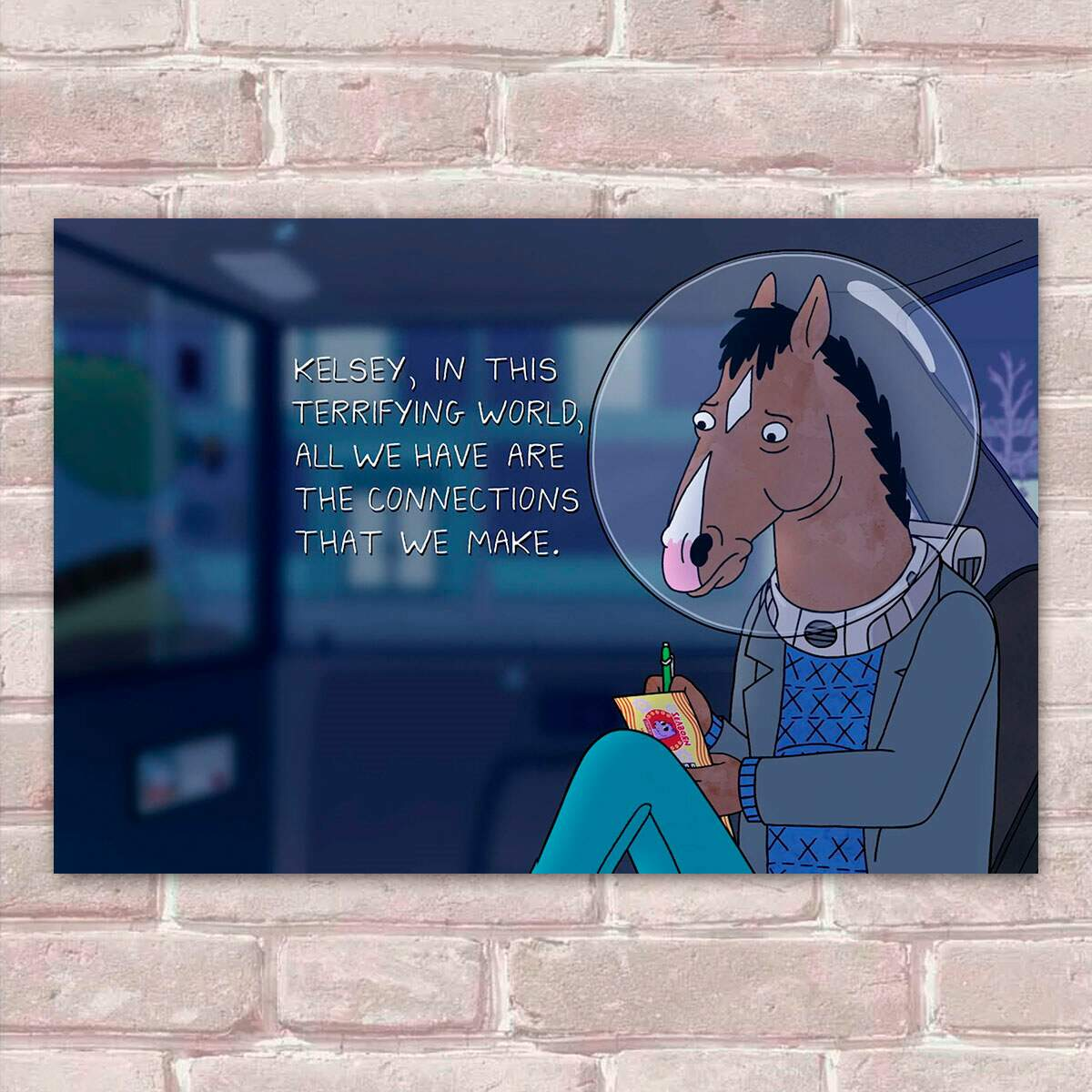 Placa Decorativa Bojack Horseman 3