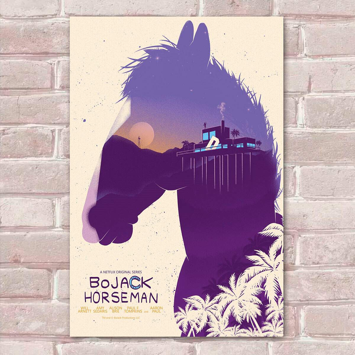Placa Decorativa Bojack Horseman 12