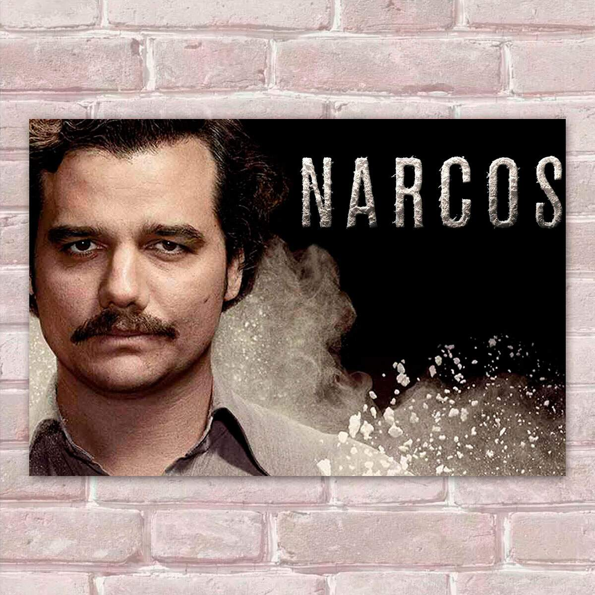 Placa Decorativa Narcos 10