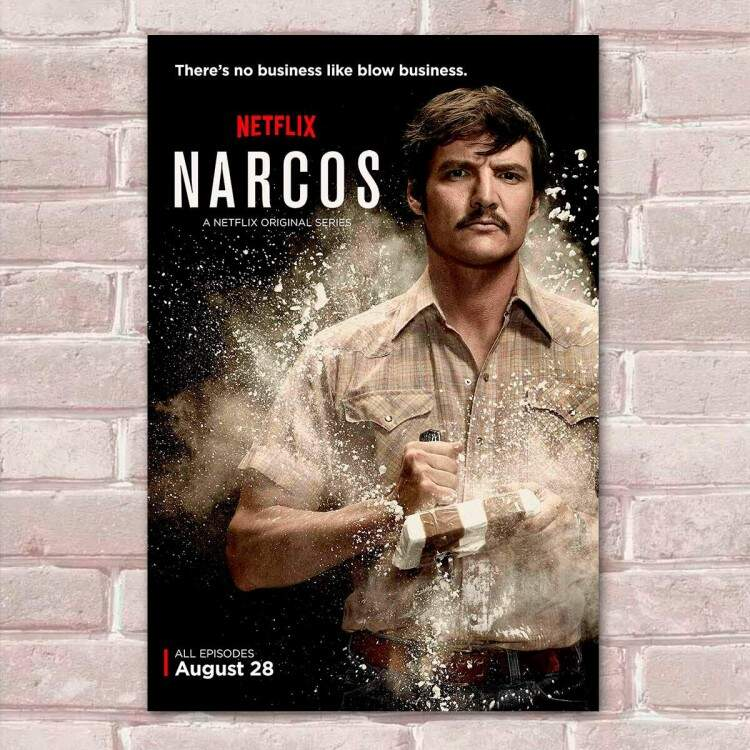 Placa Decorativa Narcos 14