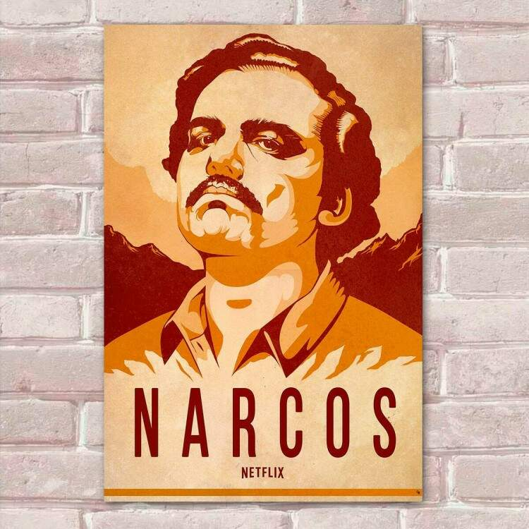 Placa Decorativa Narcos 15