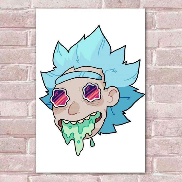 Placa Decorativa Rick And Morty 9