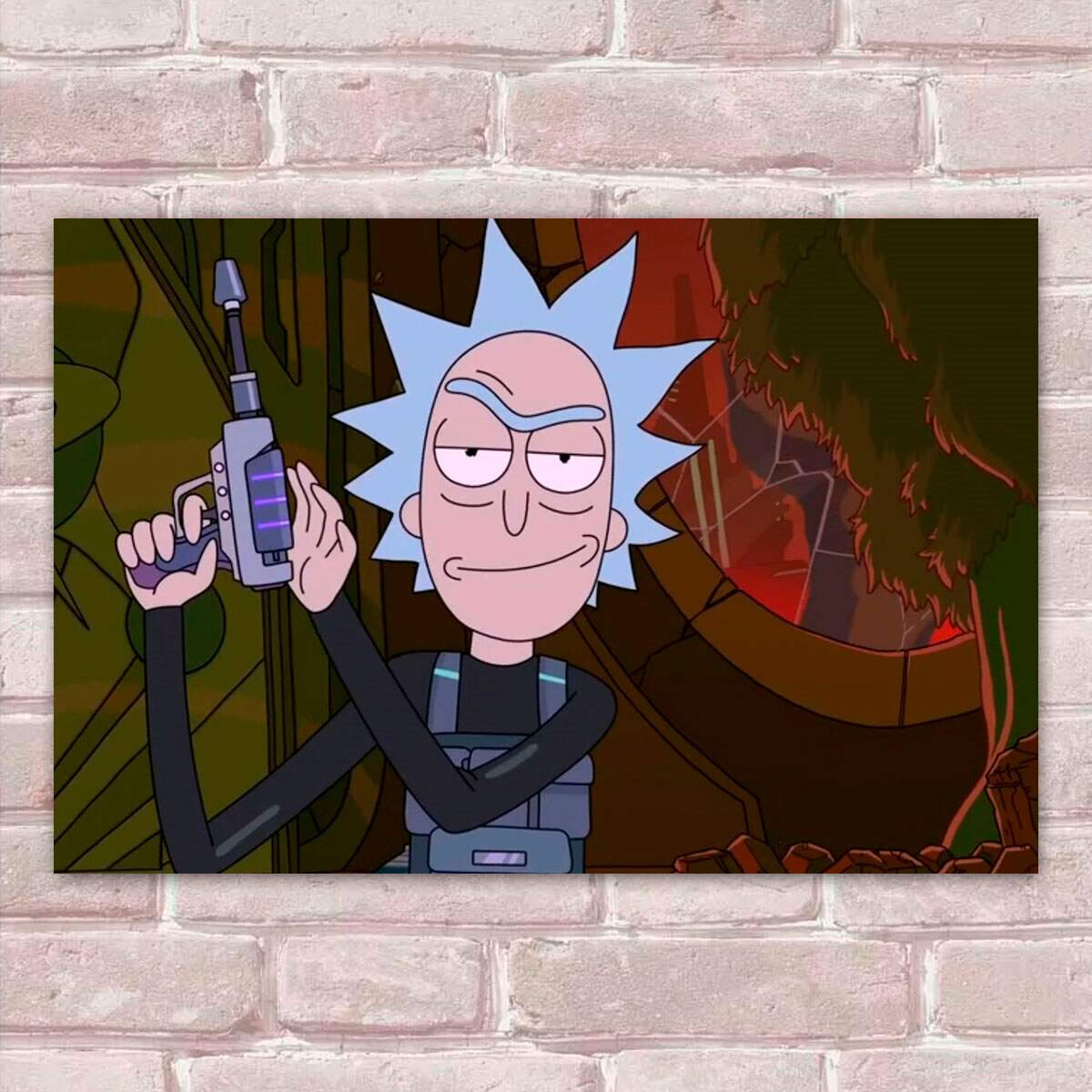 Placa Decorativa Rick And Morty 30
