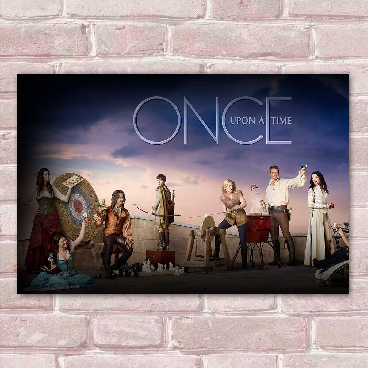 Placa Decorativa Once Upon a Time 02