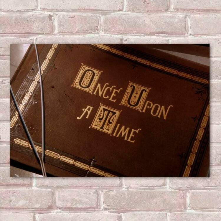 Placa Decorativa Once Upon a Time 03