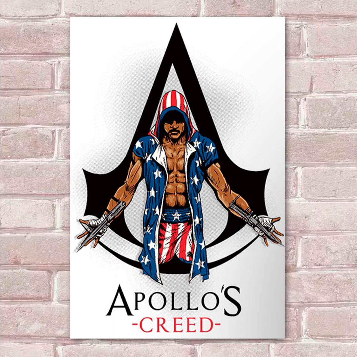 Placa Decorativa Apollos Creed