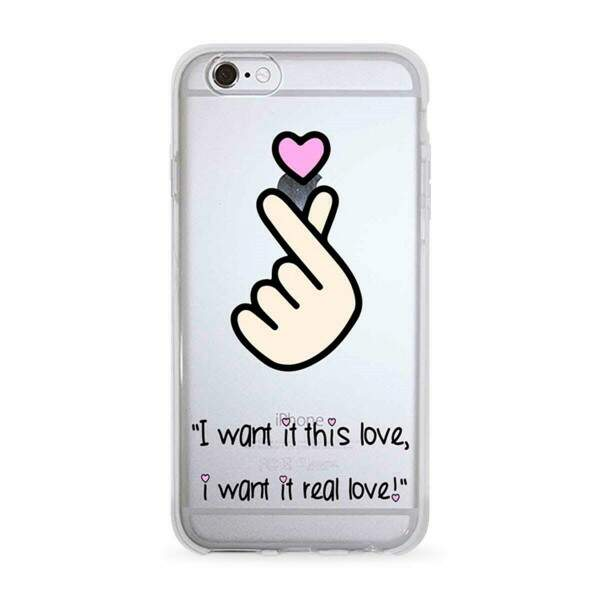 Capa para Celular I Want It This Love