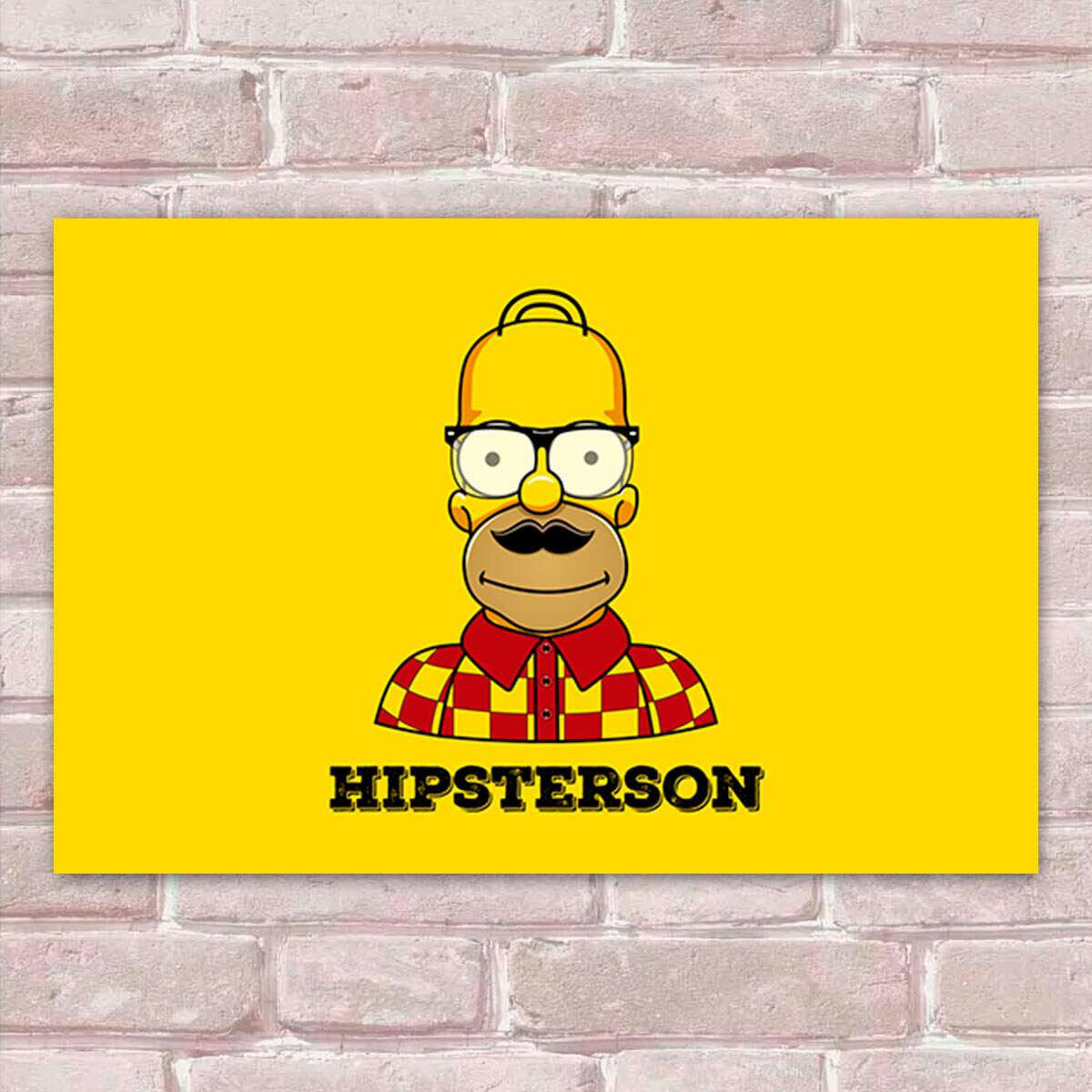 Placa Decorativa The Simpsons 17 Hipsterson