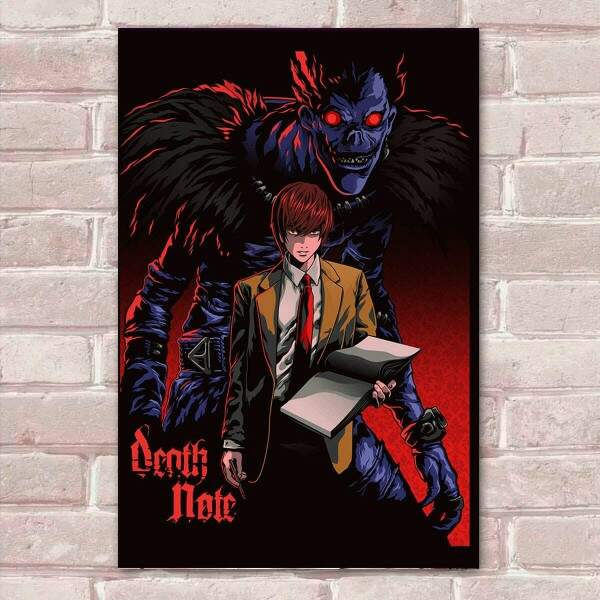 Placa Decorativa Death Note 8