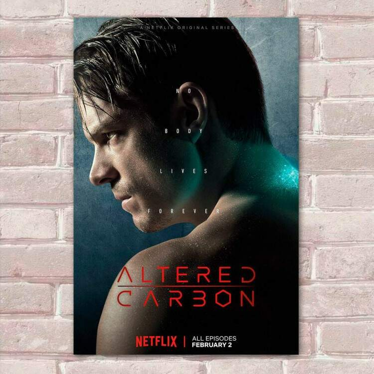 Placa Decorativa Altered Carbon 20