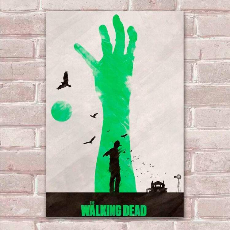 Placa Decorativa The Walking Dead 38