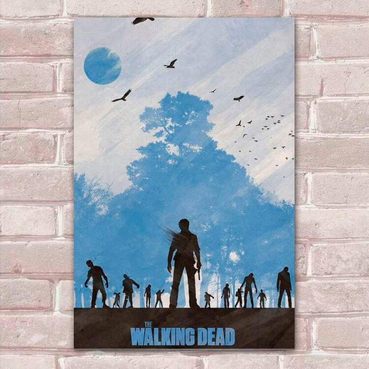 Placa Decorativa The Walking Dead 40