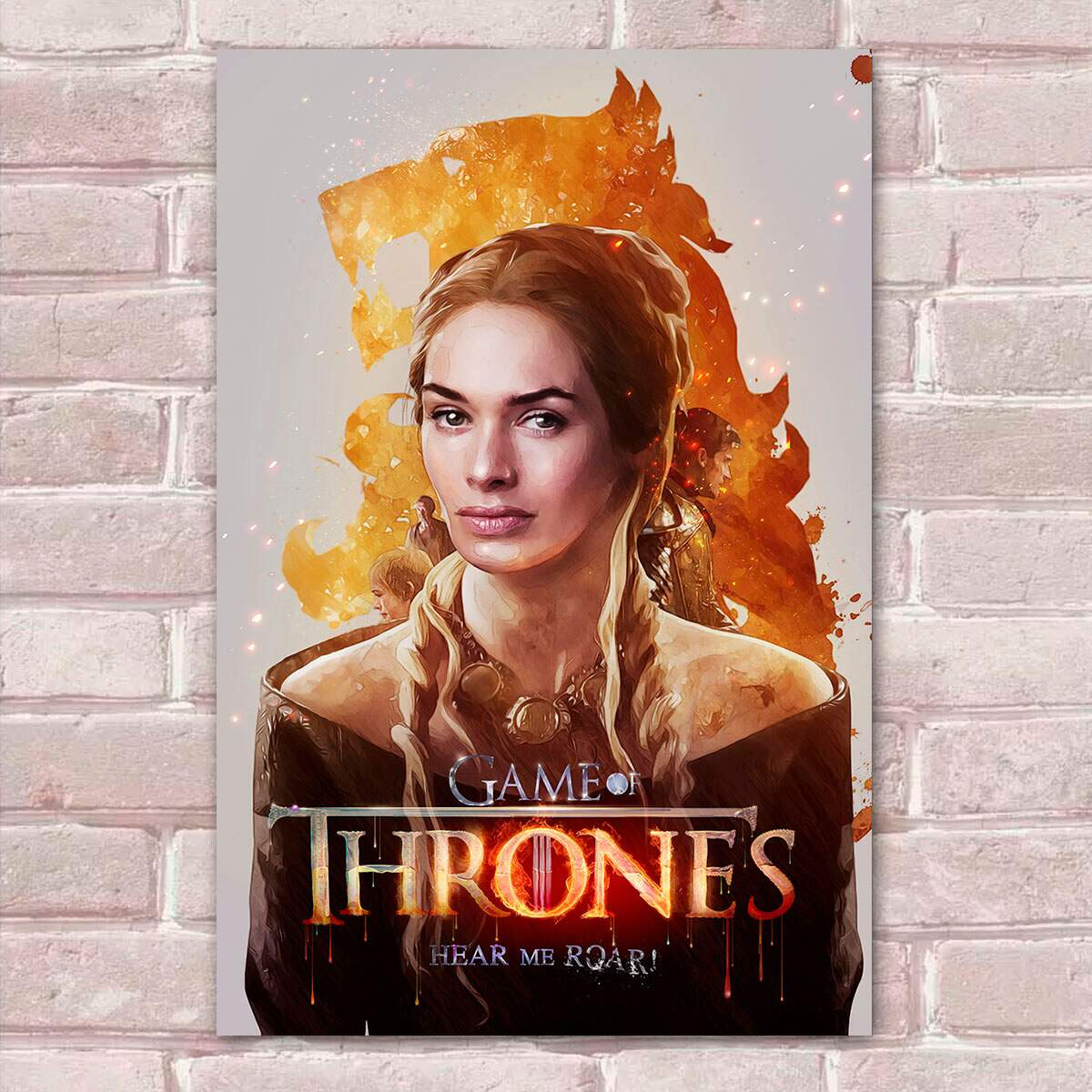 Placa decorativa Game Of Thrones 55- Cersei