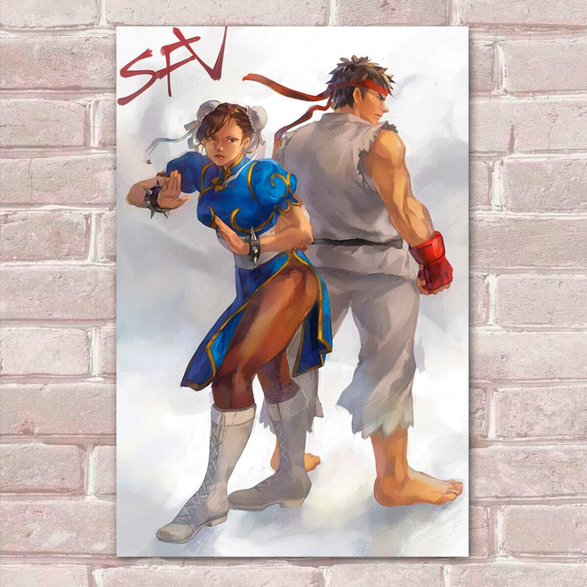 Placa Decorativa Street Fighter 37
