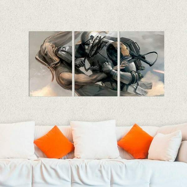Kit 3 Placas Decorativas Star Wars 6