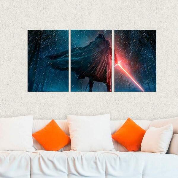 Kit 3 Placas Decorativas Star Wars 23