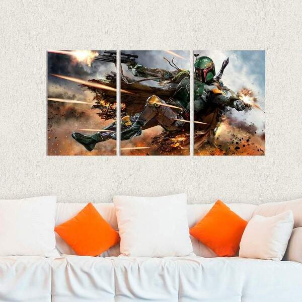 Kit 3 Placas Decorativas Star Wars 29