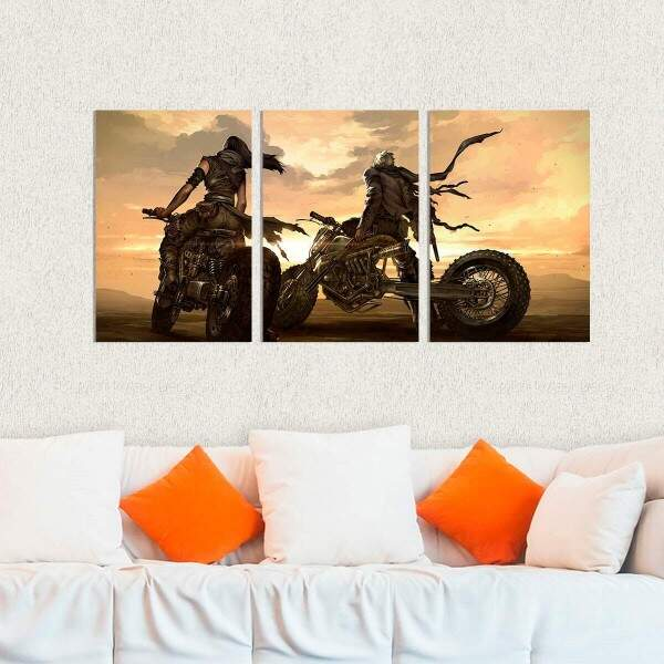 Kit 3 Placas Decorativas Mad Max 5
