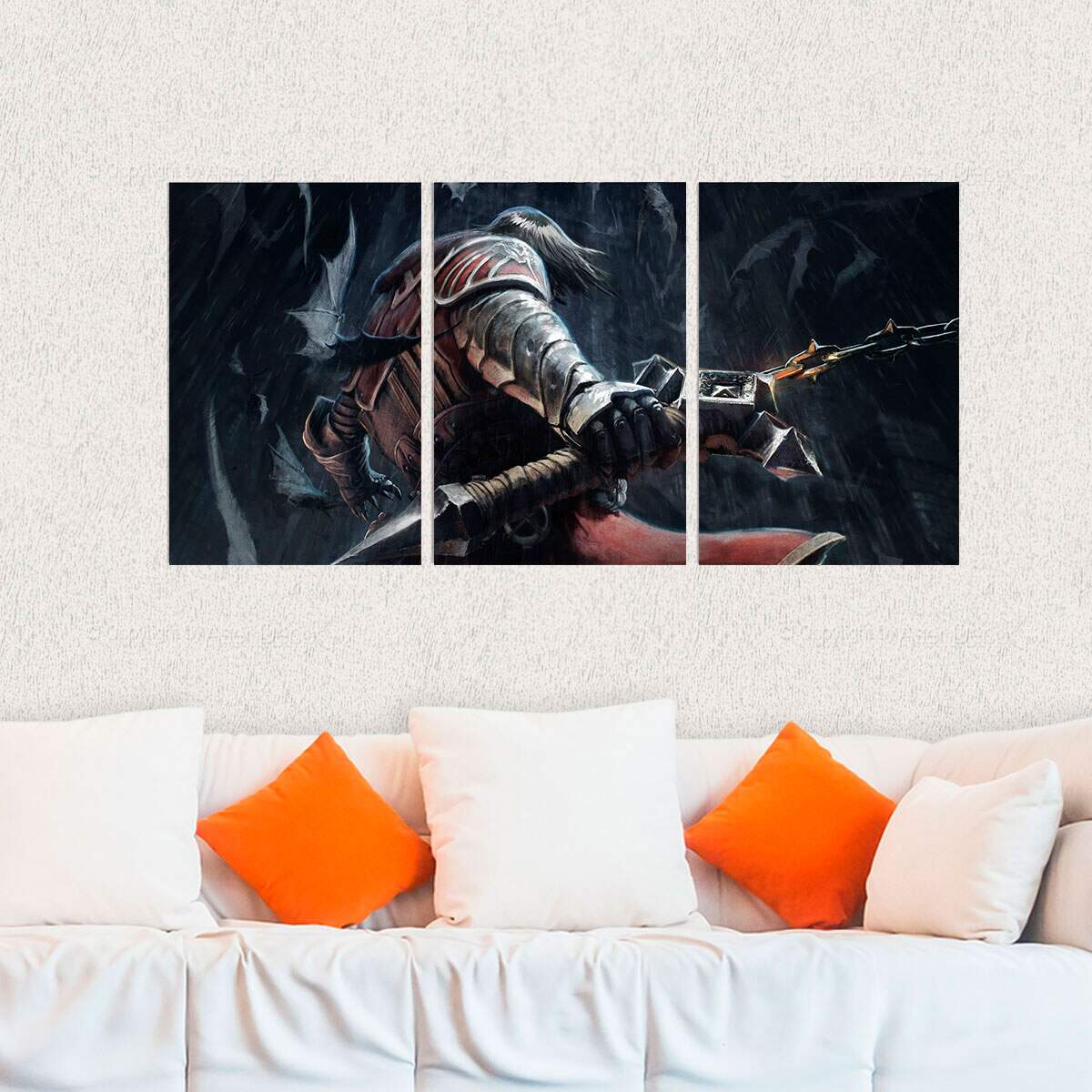 Kit 3 Placas Decorativas Castlevania 2