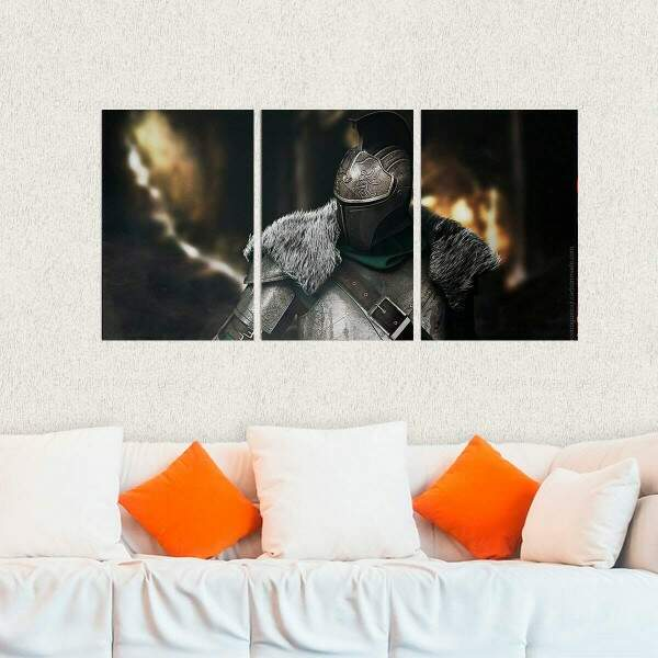 Kit 3 Placas Decorativas Dark Souls 6