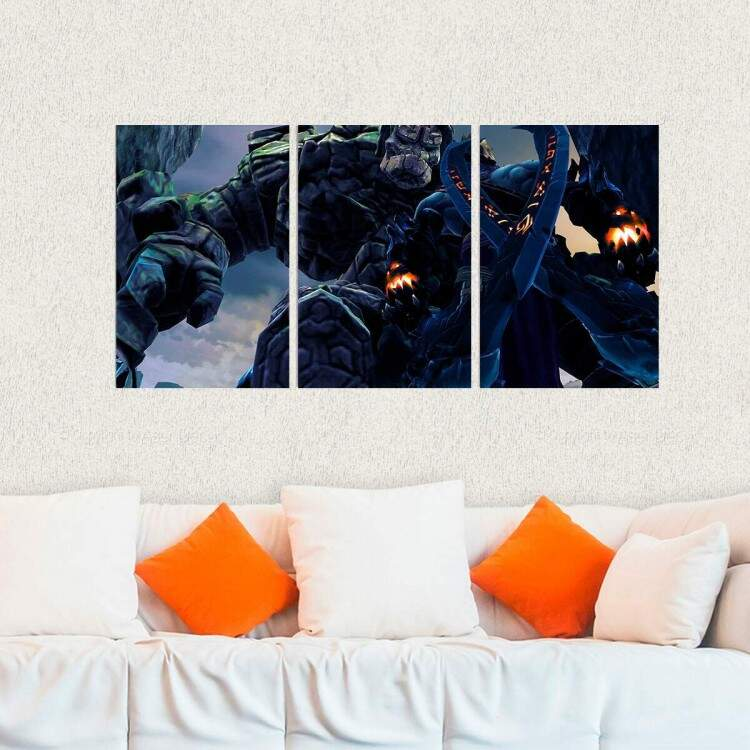 Kit 3 Placas Decorativas Darksiders 7