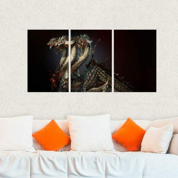 Kit 3 Placas Decorativas Final Fantasy 22