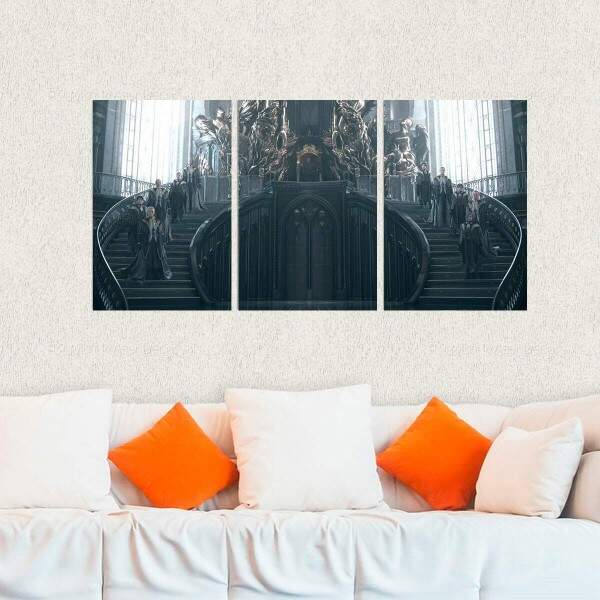 Kit 3 Placas Decorativas Final Fantasy 23