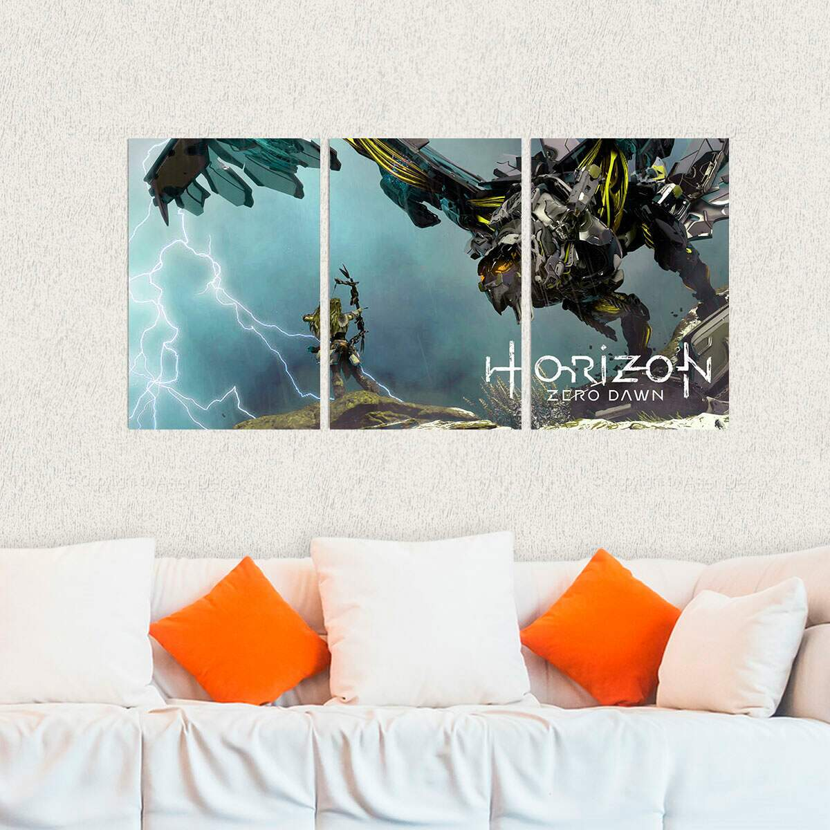 Kit 3 Placas Decorativas Horizon Zero Dawn 15