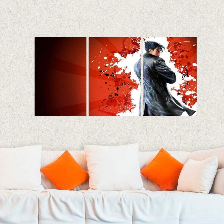 Kit 3 Placas Decorativas Tekken 12