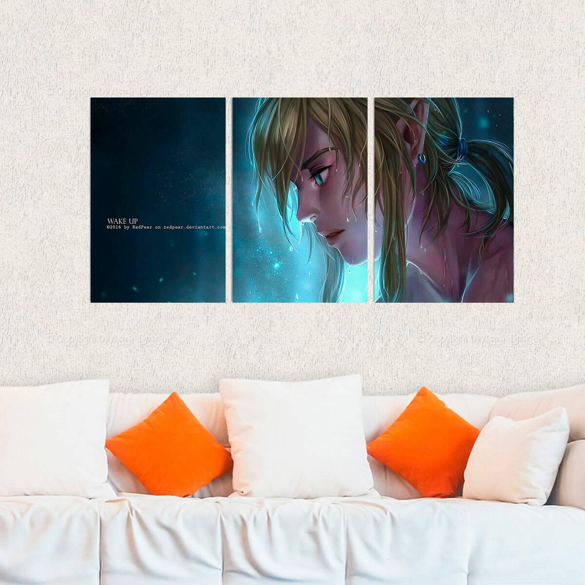 Kit 3 Placas Decorativas Zelda 12