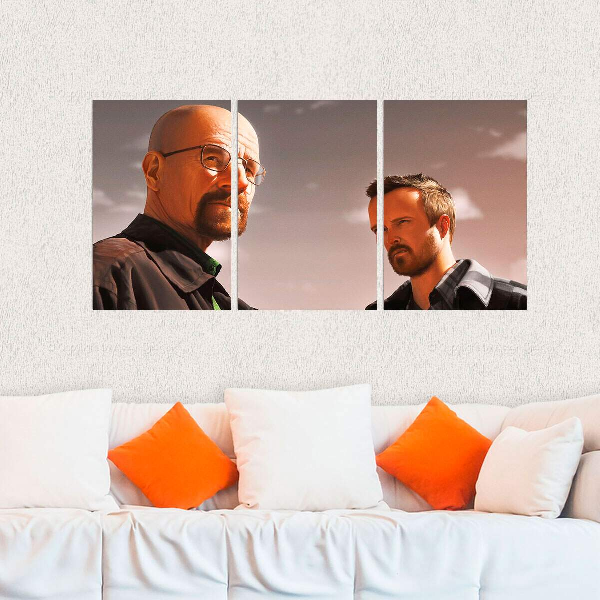 Kit 3 Placas Decorativas Breaking Bad 3