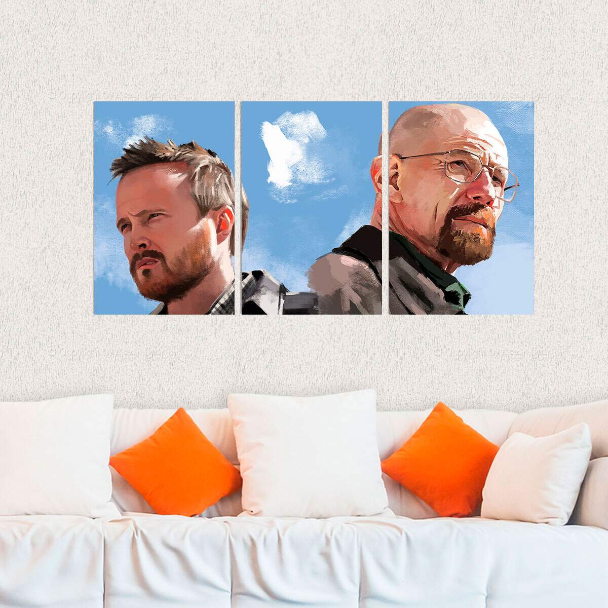 Kit 3 Placas Decorativas Breaking Bad 6