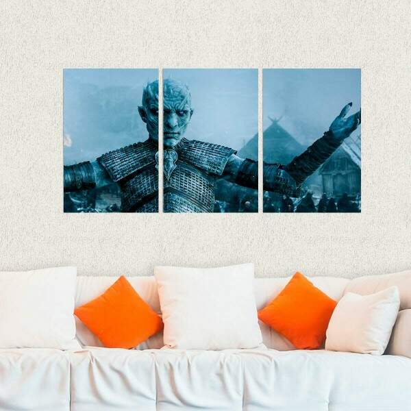 Kit 3 Placas Decorativas Game of Thrones 4