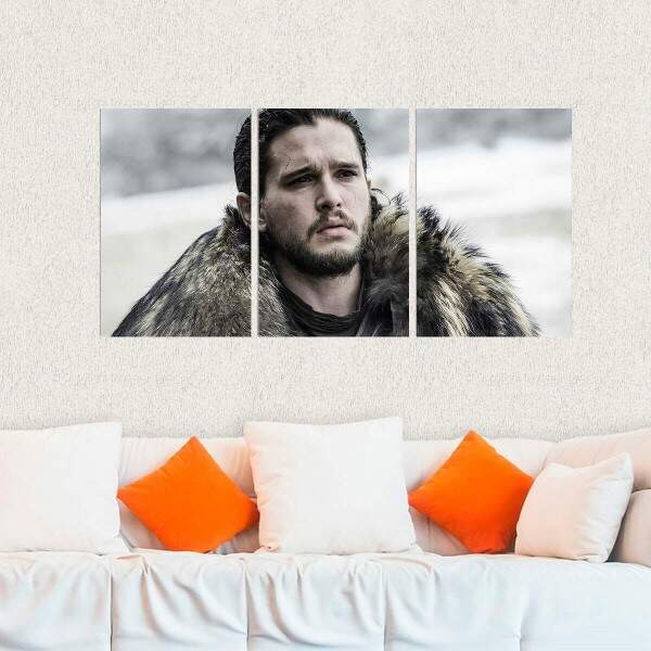 Kit 3 Placas Decorativas Game of Thrones 10