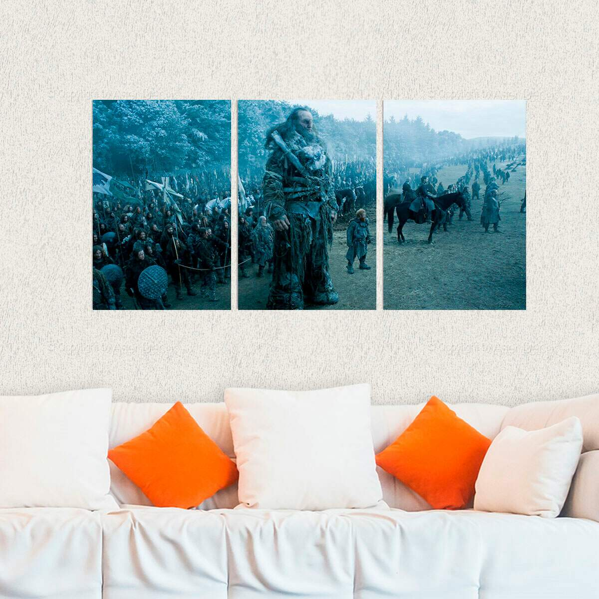 Kit 3 Placas Decorativas Game of Thrones 17