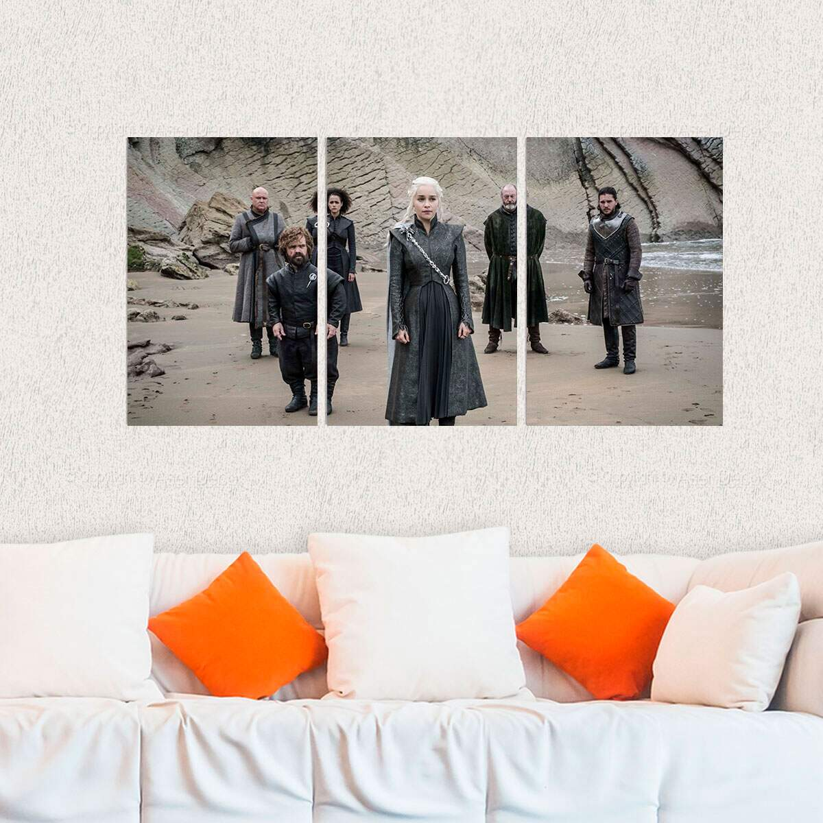 Kit 3 Placas Decorativas Game of Thrones 20
