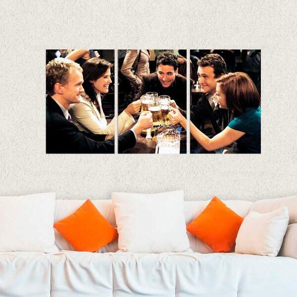 Kit 3 Placas Decorativas How I Met Your Mother 3